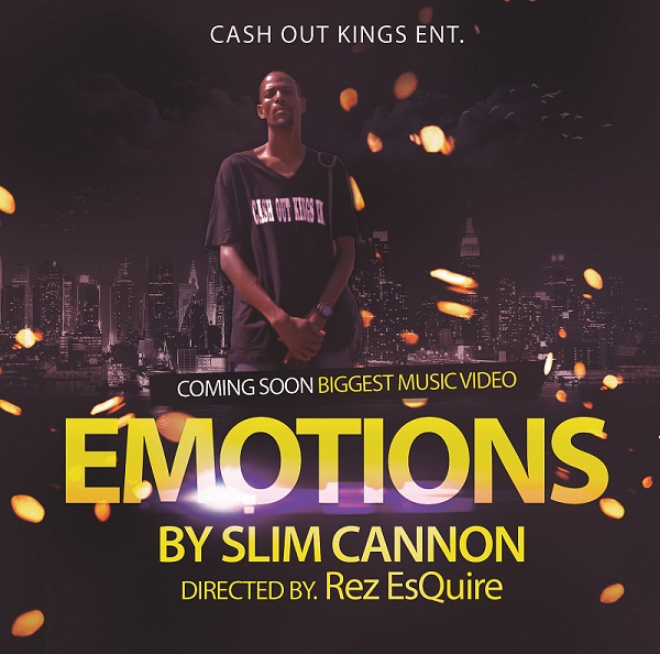 "Slim Cannon ""Emotions"" video coming soon @realslimcannon"