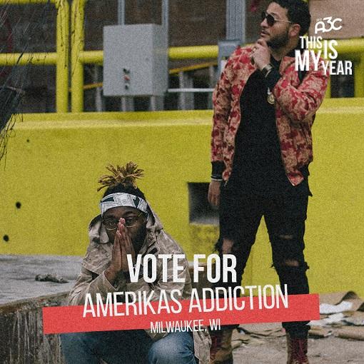 Vote for Amerikas Addiction #ThisIsMyYearA3C challenge 2017! #DWYD #A3C @amerikasaddict