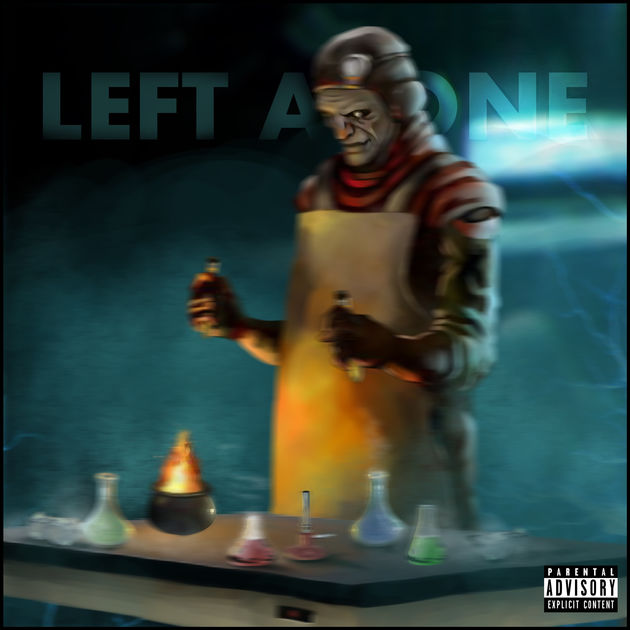 Ronnie Rage – Left Alone | @ronniexrage