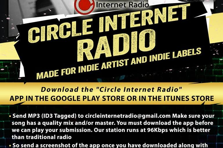 1 Spot For Indie Music  JOIN THE CIRCLE!!! 'Circle Internet Radio