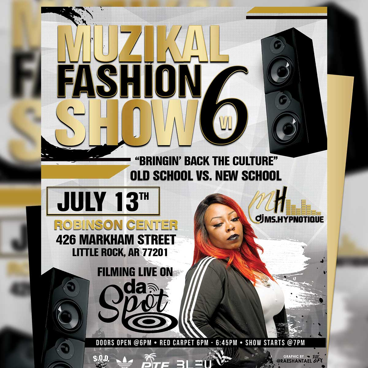 [Event] 7/13 Muzikal Fashion Show 6 in Little Rock