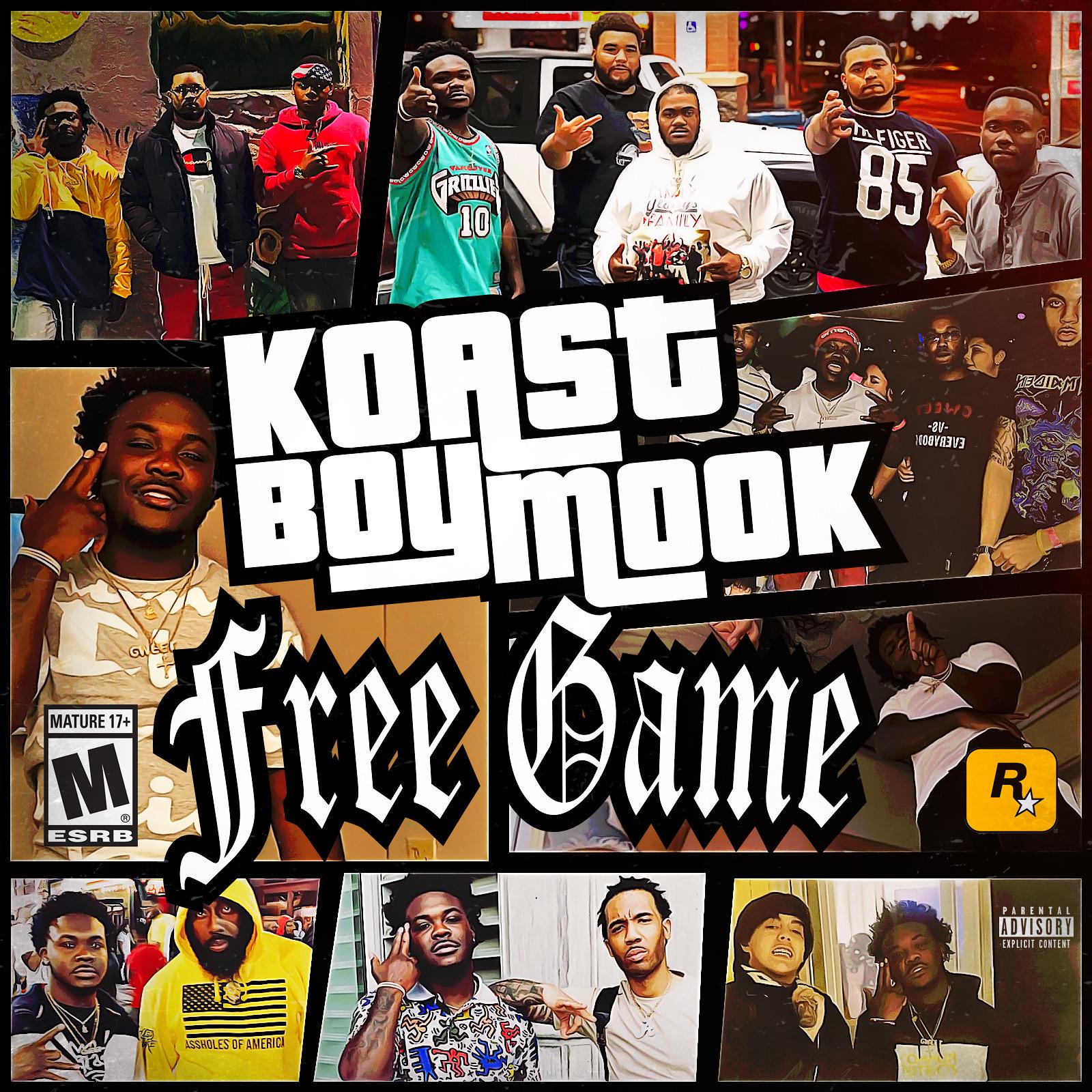 """Koastboy Mook """"FREE GAME"""" Mixtape"""