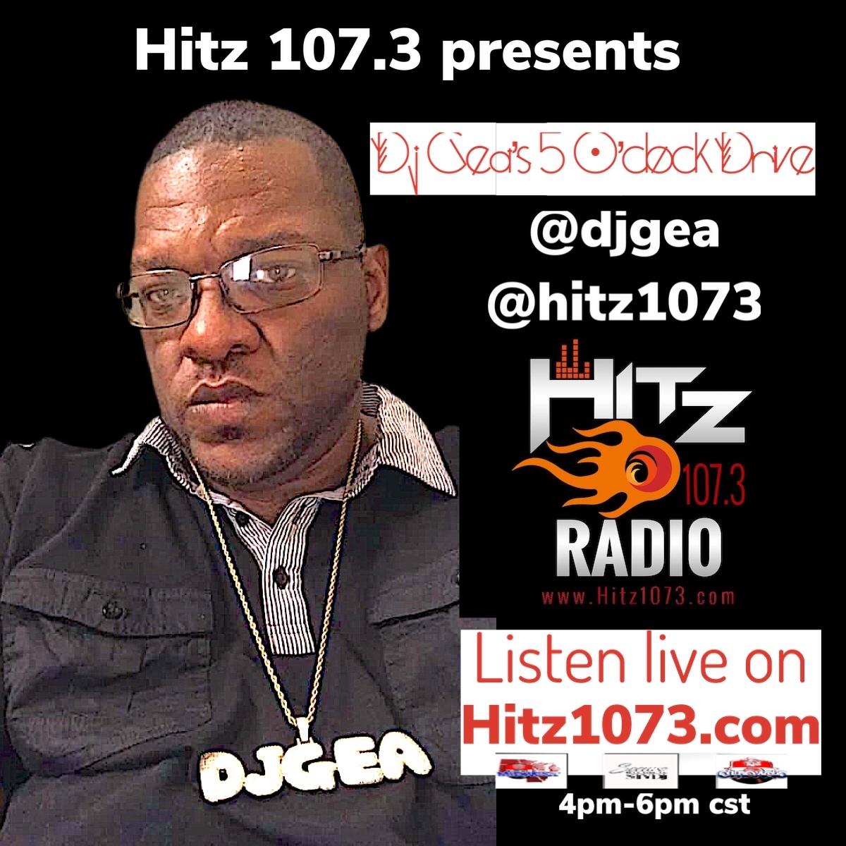 DJ Gea the Hitbreaker of Hitz 107.3 The Beat