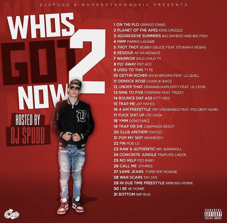 [Mixtape] Who's Got Now 2 Hosted by DJ Spudd | @djspudd