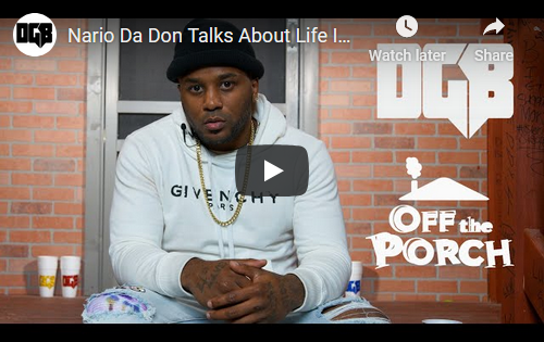 """Off The Porch"" Interview w/ Nario Da Don 