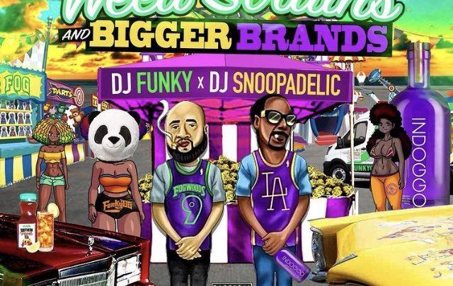 "New Clay James verse released on @snoopdogg & @djfunkyATL mixtape ""Weed Strains & Bigger Brands"" | @whoisclayjames"