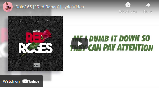 """Cole365 """"Red Roses"""" Lyric Video 
