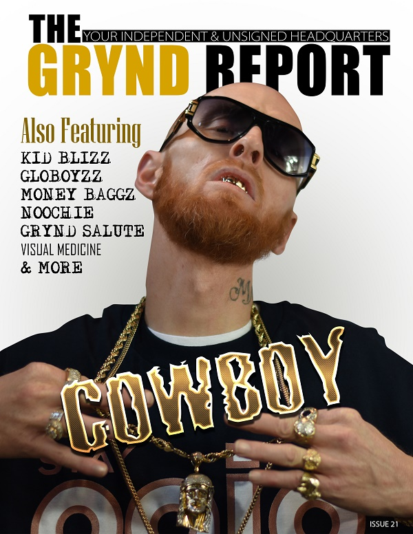 """OUT NOW """"THE GRYND REPORT ISSUE 21"""" COWBOY EDITION @COWBOYSTREET404"""