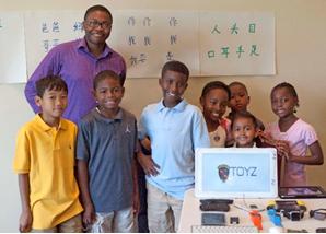 Toyz Electronics brings STEM Outreach at Washington Auto Show