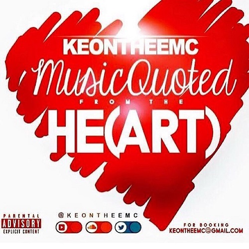 [EP] Keontheemc – Music Quoted From The He(ART) @keontheemc