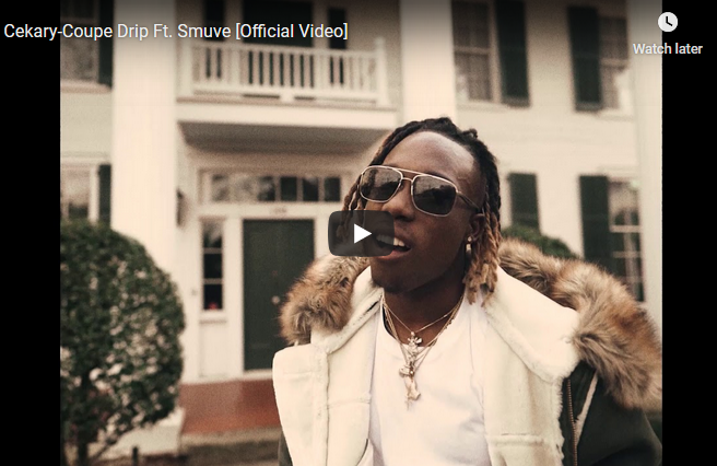 """Cekary """"Coupe Drip"""" ft Smuve (Video)"""