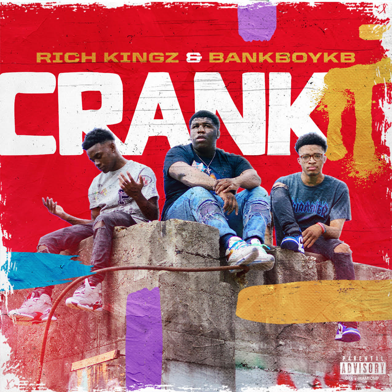 New Release >> Rich KingZ ft BankBoyKB – CRANK IT (DJ Pack + Music Video)