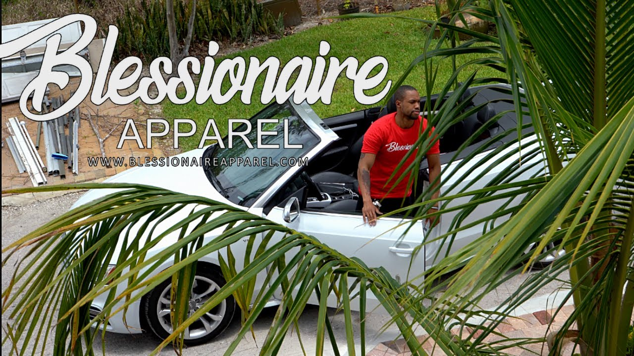 Blessionaire Apparel. Luxuary Lifestyle Brand | @blessionaire