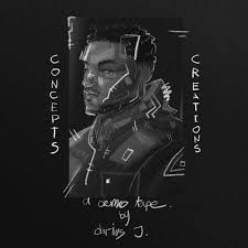 darius j. – Concepts & Creations: A Demo Tape @dvriusj