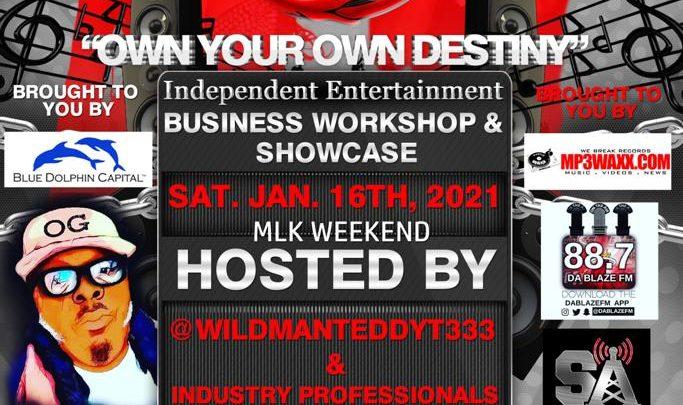 "#MLKWEEKEND2021 ""Own Your Own Destiny"" Independent Business Workshop & Showcase ( Sat Jan 16 2021)"