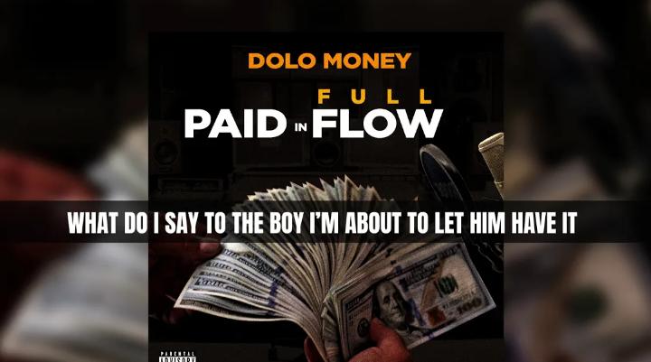 "Dolo Money ""Paid In Full"" Lyric Video | @DoloMoneyEnt"