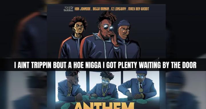 "HBK JohnDoe ""Anthem"" Lyric Video  | @HbkJohnDoe ft Bigga Rankin, EZ Longway & Mack Ben WiddIt"