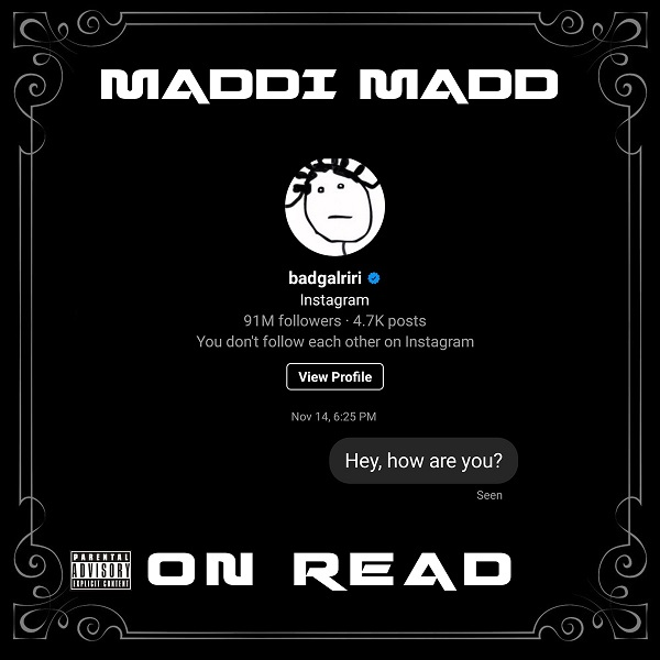 Maddi Madd – On Read