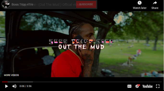 """Introducing Boss Tripp 4Tre """"Out The Mud"""" Video + Single"""