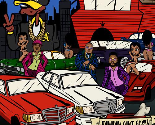 Pimpin Ain't Easy (Remix) Extraordinaire & Black Folk Inc., Too $hort, Chillmode (Official Video) | @3xtraordinaire